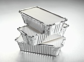 Aluminium take-away food containers