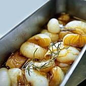 Cipolle marinate (marinated onions), Tuscany, Italy