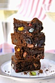 Jelly bean brownies