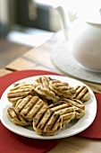 Welsh cakes (Griddle cakes with raisins, Wales)
