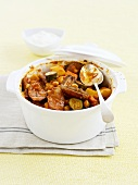 Date and sausage stew