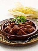 Spicy beef goulash