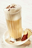 Latte macchiato (Frothed milk with espresso, Italy)