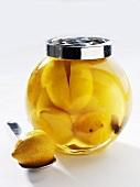 Salt-pickled lemons