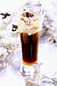 Irish Coffee for Christmas dessert