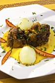 Rabada (Bahian oxtail on corn cream)