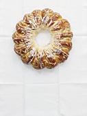 Engadine Christmas wreath cake