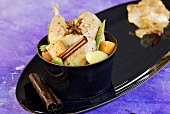 Pot au feu (Chicken and vegetable stew, France)