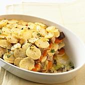 Gemüse-Fleisch-Topf