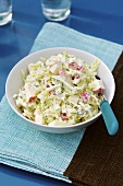 Chinese cabbage and apple salad