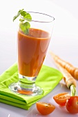 Tomato and carrot juice