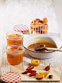 Apricot and chilli jam