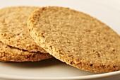 Oatcakes (Flat oatmeal cakes, Scotland)