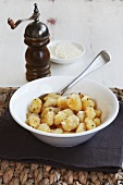 Gnocchi with pepper and parmesan