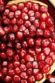 Granatapfelkerne (Nahaufnahme)