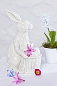 A decorative rabbit