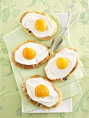 Fried egg cakes