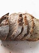 Farmhouse bread, sliced