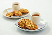Oat cakes with apple for tea