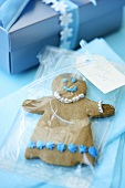 Gingerbread man to give as a gift