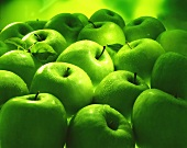 Several Granny Smith apples