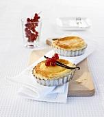 Two Pasteis de Nata (Custard tarts, Portugal)