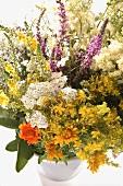 Bunch of flowering herbs