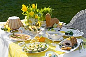 Easter buffet out of doors (Poland)