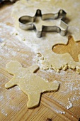 Cut-out gingerbread man