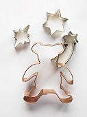 Assorted biscuit cutters for Christmas