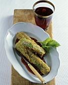 Sedani alla pratese (Stuffed celery, Italy)