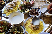Mezze-Tafel (Jordanien)