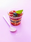 Mixed fruit in jelly