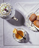 Tea with madeleines
