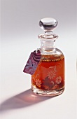 A carafe of spiced liqueur to give as a gift