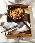 Pork, potato and pear stew
