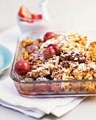 Gooseberry gratin