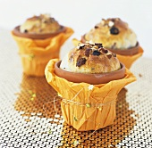 Blumentopf-Kuchen (Hefekuchen im Tontopf gebacken)
