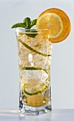 Pimm's No. 1 Cup (with lemonade, cucumber, mint)