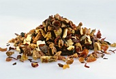 Fruit tea mixture: passion fruit, orange, mallow, rose petals