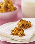 Chocolate crispies (made with cornflakes)
