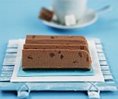 Chocolate and ginger fudge