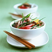 Chinese duck salad