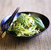 Green papaya and pomelo salad