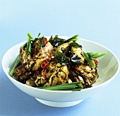 Steamed crabs with black bean sauce