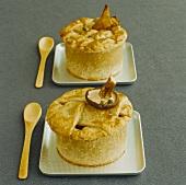 Mini mushroom pies