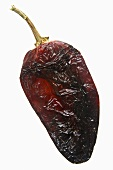 A dried chilli pepper (chile pasilla, raisin chilli pepper)
