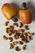 Cashew apples and cashew nuts