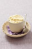 Horseradish-egg dip for Easter
