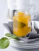 Mango chutney with limes